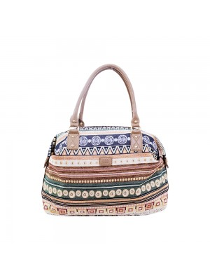Bolsa Shopping Bag American Indian Pattern (Modelo A) - Naia Vibes