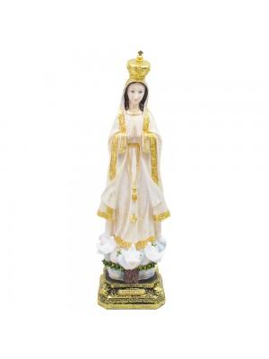 Nossa Senhora De Fátima 59cm - Enfeite Resina