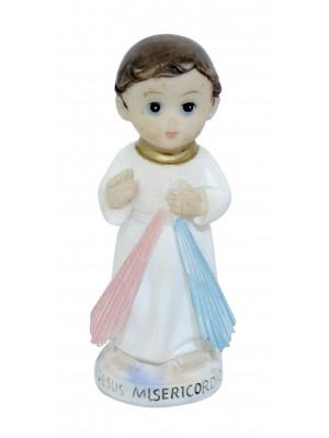JESUS MISERICORDIOSO INFANTIL 9CM - ENFEITE RESINA