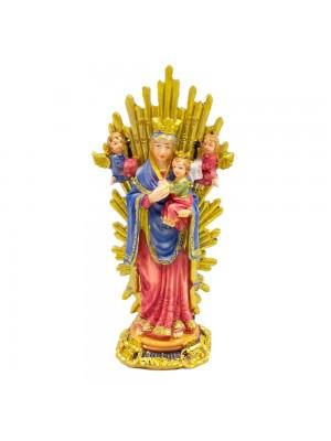 Nossa Senhora Do Perpétuo Socorro 15cm - Enfeite Resina