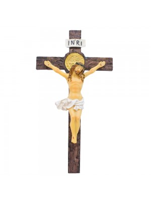 Crucifixo 26.5cm - Enfeite Resina