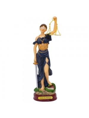 Dama Da Justiça 23cm - Enfeite Resina