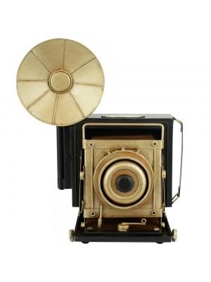 Câmera Fotográfica Antiga Cofrinho 34x24.5x32cm Estilo Retrô - Vintage