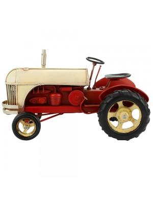 Trator 16x28x16cm Estilo Retrô - Vintage