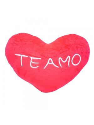Almofada Coração Te Amo 34x52cm (Fibra)