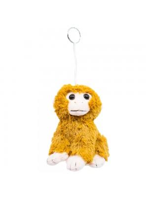 Chaveiro Macaco Marrom 15cm - Pelúcia