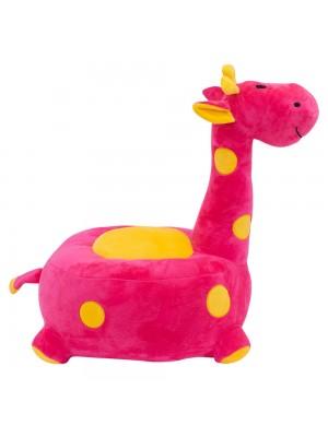 Puff Girafa Pink 48cm - Pelúcia