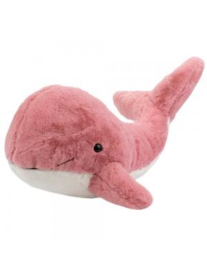 Baleia Rosa Cauda Levantada 32cm - Pelúcia