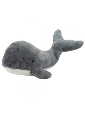 Baleia Cinza Cauda Levantada 41cm - Pelúcia