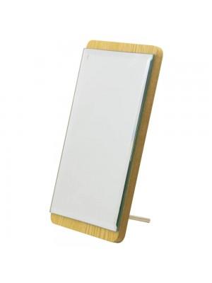 Espelho Retangular Madeira 19cm