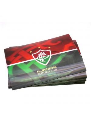 JOGO AMERICANO 3D 4 PEÇAS - FLUMINENSE