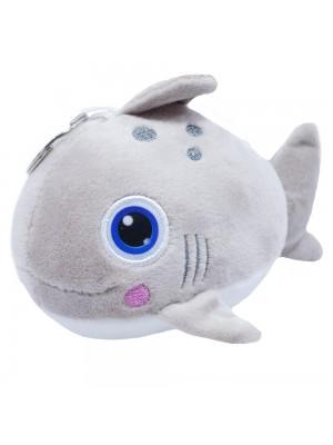 Chaveiro Tubarão Bochechas Rosadas 16cm - Pelúcia