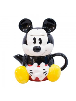 Bule 720ml Caneca 210ml Formato Mickey - Disney