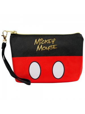 Necessaire Assinatura Cores Mickey 14x5x21cm - Disney