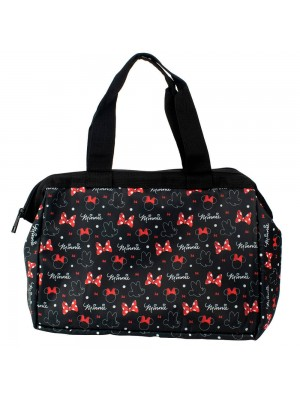 Bolsa Térmica Preta Minnie 24x13x36cm - Disney