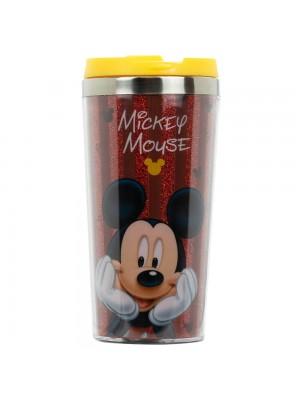 Copo Térmico Mickey Tampa Amarela 450ml - Disney
