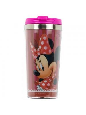 Copo Térmico Minnie Tampa Pink 450ml - Disney