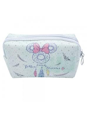 Necessaire Verde Minnie Mandala 12X22cm - Disney
