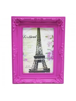 Porta Retrato Pink 1 Foto 10x15cm