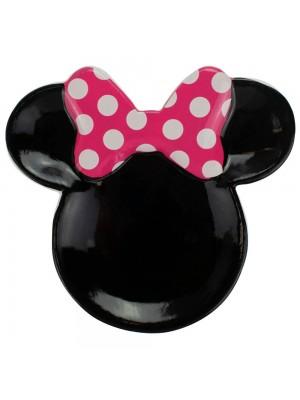 Enfeite Porcelana Formato Minnie 13.5x14.5cm - Disney