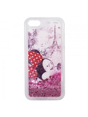 Capa De Celular Minnie Paris Glitter - Disney