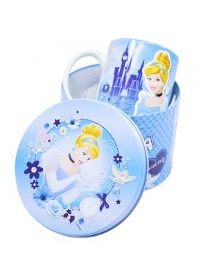 Caneca De Porcelana Na Lata Cinderela 350ml - Disney