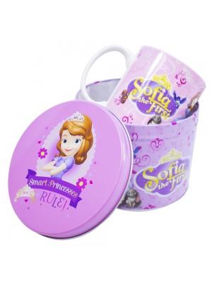 Caneca De Porcelana Na Lata Princesinha Sofia 350ml - Disney