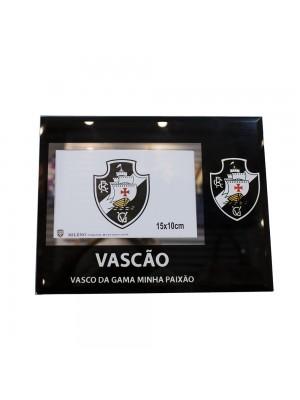PORTA RETRATO DE VIDRO 1 FOTO 10X15CM - VASCO