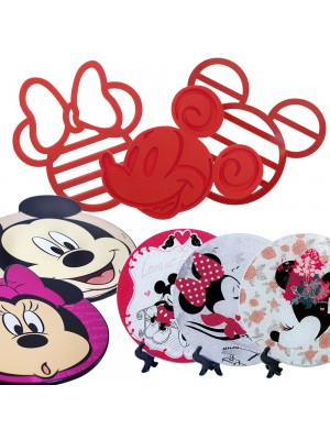 KIT SUPORTE PANELA MICKEY & MINNIE - DISNEY