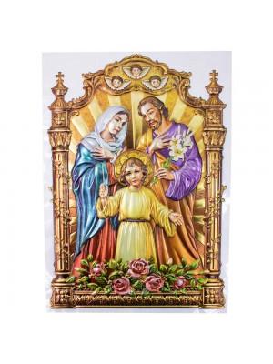 Adesivo Decorativo Sagrada Família 41x27cm