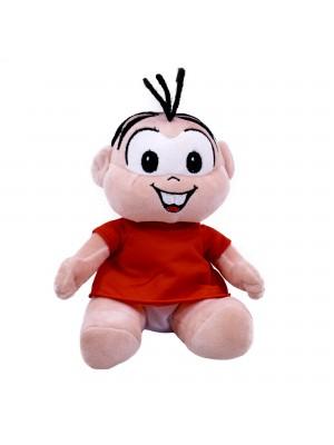 Boneca Mônica Sentada - Turma Da Mônica (Pequena)
