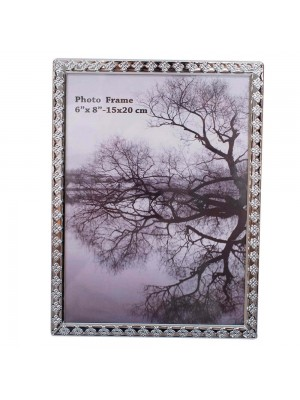 Porta Retrato Alumínio 1 foto 15x20cm