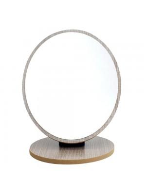 Espelho Oval Ajustável 22x17cm