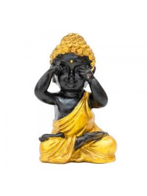 Buda Dourado Não Vejo 7.5cm
