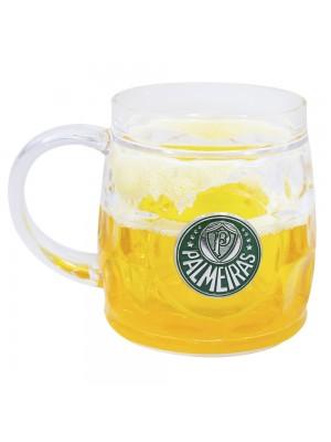 Caneca Cerveja Base Grossa 400ml - Palmeiras