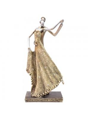 Casal Dançando 31cm - Enfeite Resina