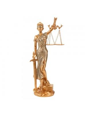 Dama Da Justiça 31cm - Enfeite Resina