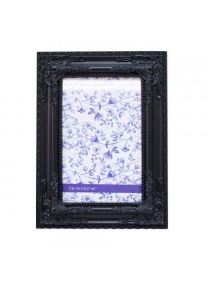 Porta Retrato Preto 1 foto 10x15cm