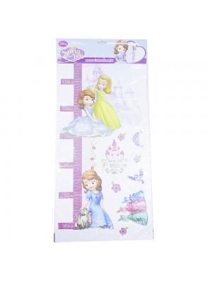 Adesivo Altura Métrica Princesinha Sofia - Disney