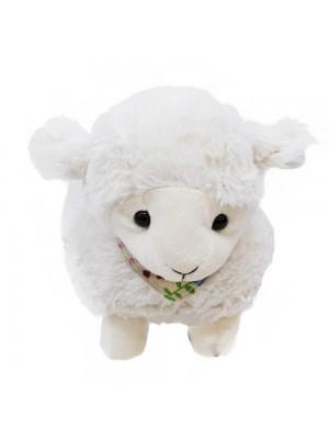 Ovelha Branca Com Laço 22cm - Pelúcia