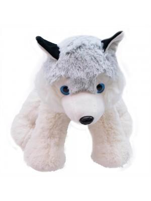 Cachorro Husky Sentado 29cm - Pelúcia