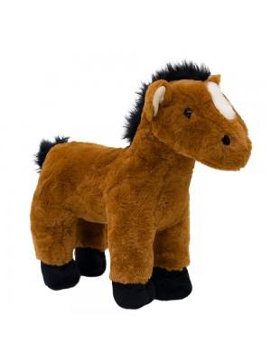 Cavalo Marrom Em Pé 38 - Pelúcia