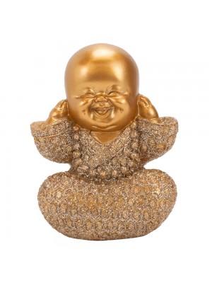 Monge Dourado Não Ouço 9cm