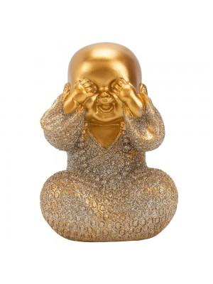 Monge Dourado Não Vejo 13cm
