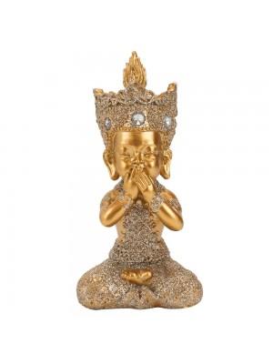 Buda Dourado Não Falo 12cm