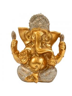 Buda Ganesha Dourado 10.5cm