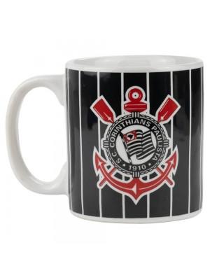 Caneca Porcelana 300ml - Corinthians