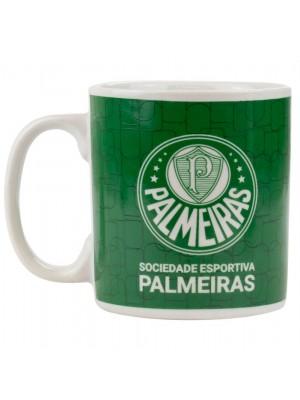 Caneca Porcelana 300ml - Palmeiras