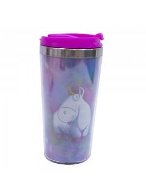 Copo Térmico Its so Fluffy Unicórnio 450ml - Minions