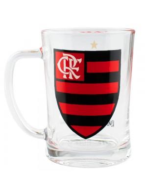 Caneca De Vidro Gigante 650ml - Flamengo